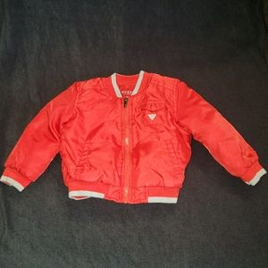 Baby Boys Guess bomber jacket